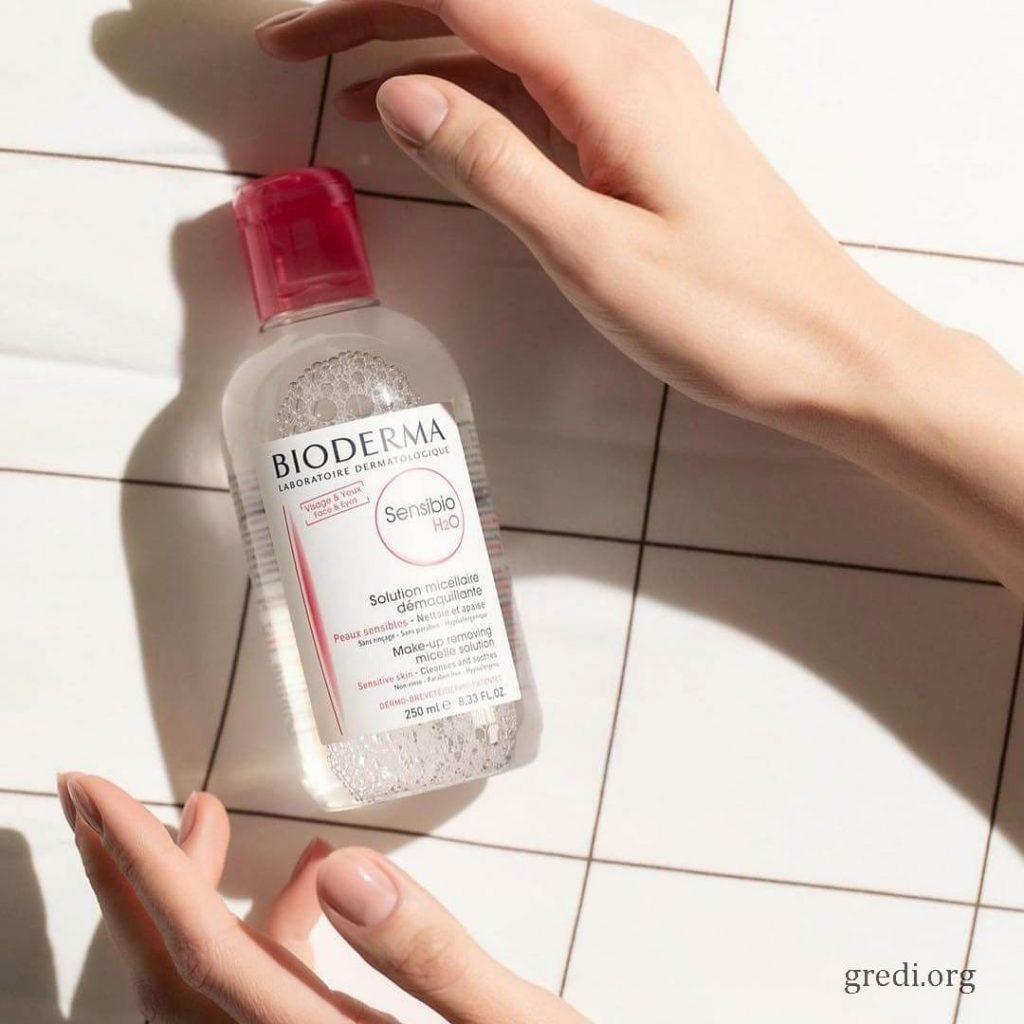 BIODERMA Sensibio H2O (sensitive skin)