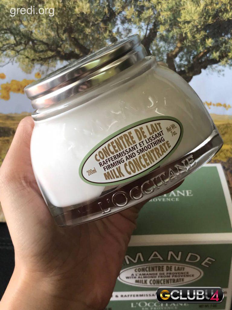 L'OCCITANEครีมทาผิว สูตร Almond Milk Concentrate