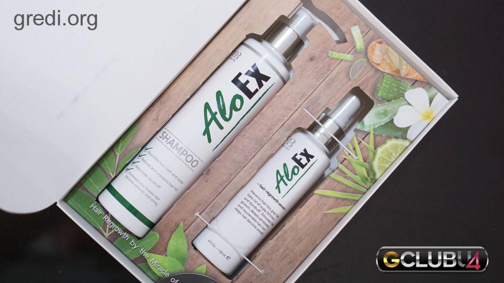 AloExHair Regrowth Shampoo