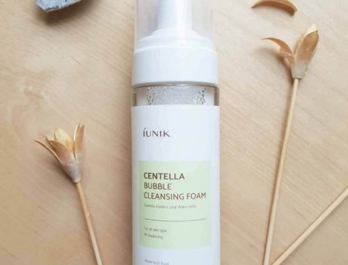 Iunik Centella Bubble Cleansing Foam