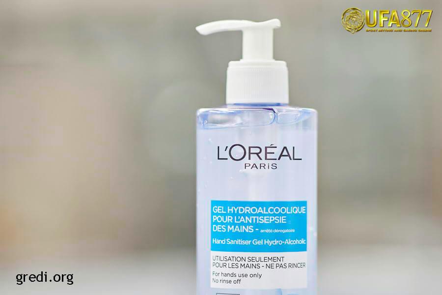 L'ORÉAL PARIS – Anti Bacterial Hand Sanitiser Gel