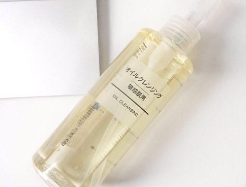 Muji Sensitive Skin Cleansing Oil