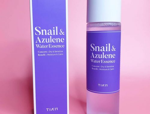 Tiam Snail และ Azulene Water Essence