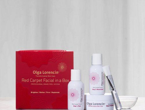 Olga Lorencin Skin Care Red Carpet Facial in a Box