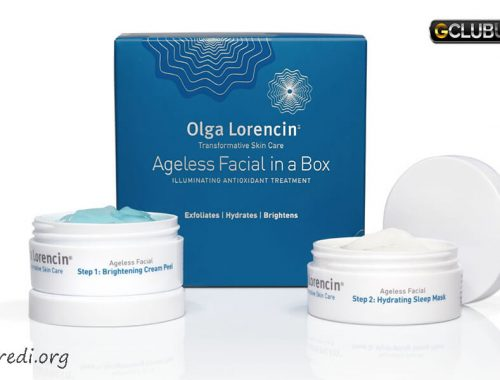 Olga Lorencin Skin Care Ageless Facial in a Box